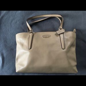 Large Coach tote - never been used